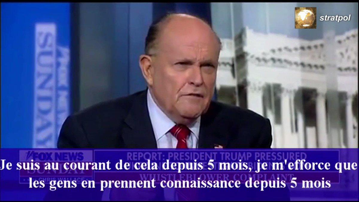 ⚔️Guerre des progressistes contre linfo! Suite à linterview ci-dessous, les démocrates🇺🇸 exigent des 6 grands réseaux d'info🇺🇸 de ne plus inviter Giuliani! C lun des + célèbres politiques🇺🇸, cité en exemple dans le monde entier! Même en France..jusquà ce quil dénonce Soros.