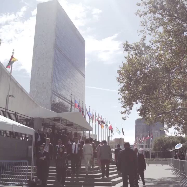 Heres the final wrap of #UNGA from our @UN video 🎥 team: