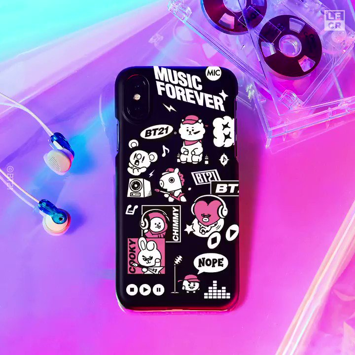 Inject some POP into your day! With BT21, wherever you are right now is a stage. 😎 For #iPhone and #Galaxy Create Your Style, Curate Your Vibe! #LINEFRIENDS_CREATOR >lin.ee/1oQPHZD/hntj #Design #Create #Personalize #CustomMade #BeatsBy #BT21