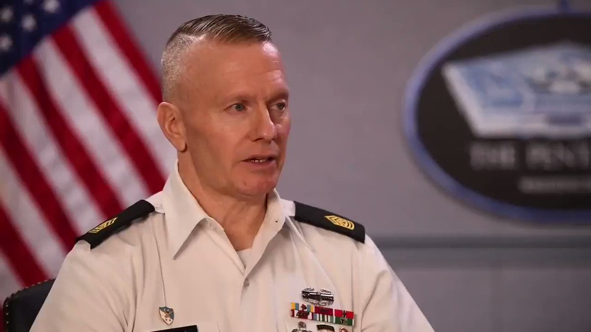 #WednesdayWisdom from @SEAC_Troxell: 'As a leader, minding your business is not allowed.' Video by @DeptofDefense