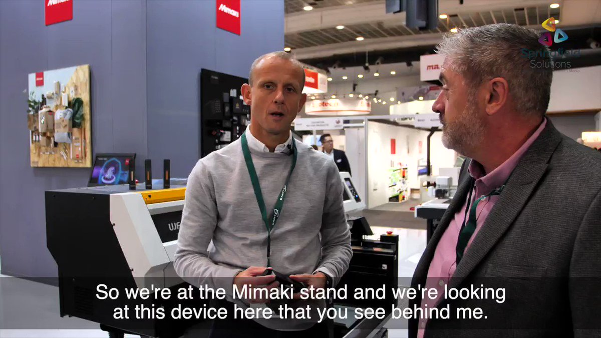 Image for the Tweet beginning: @Labelexpo Vlog 4 - More
