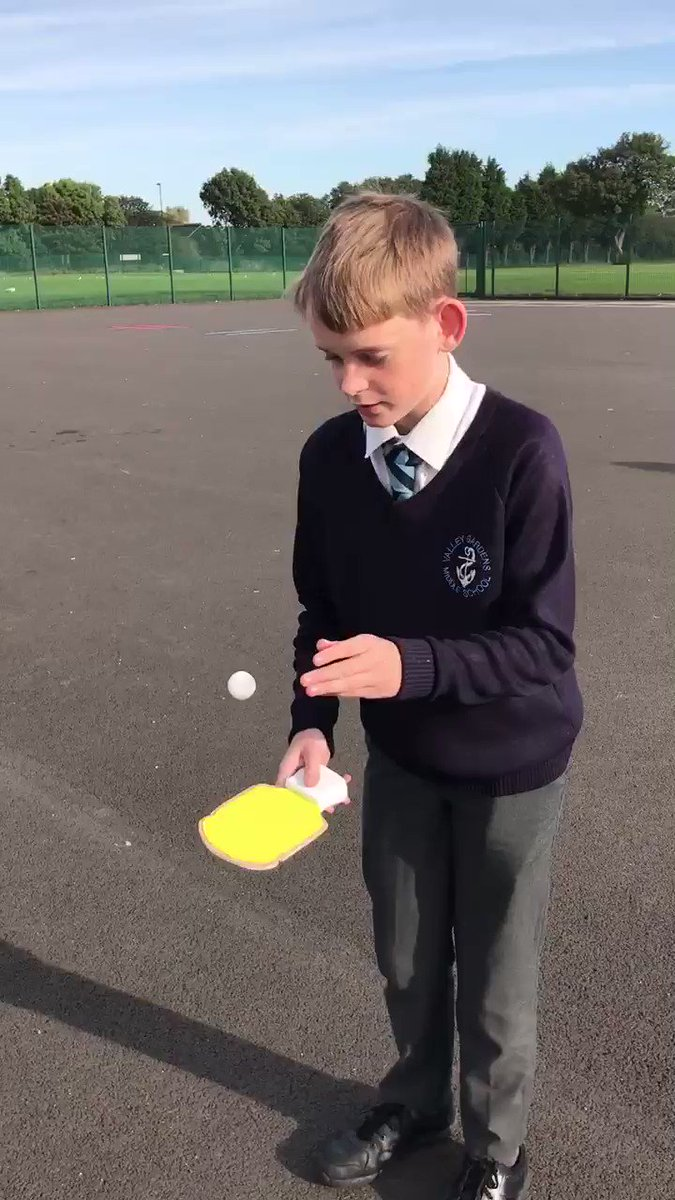Image for the Tweet beginning: Yr8, Charlie with his toast