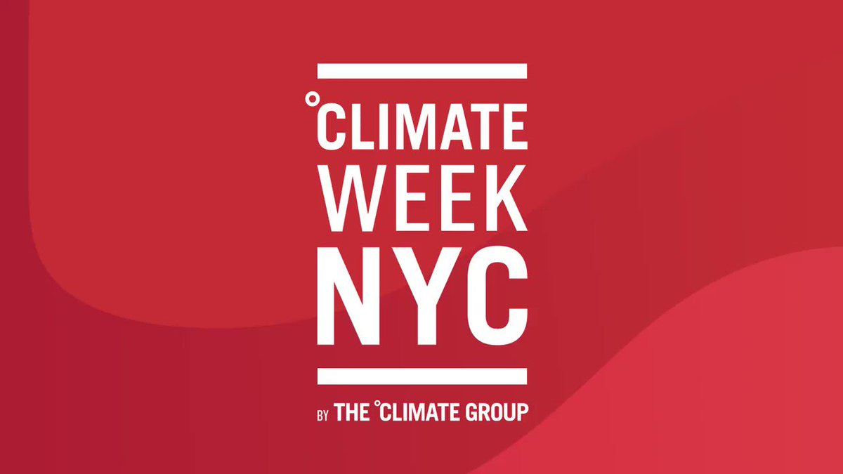 We heard from Co-Founder and CEO of @Atlassian, @mcannonbrookes at #ClimateWeekNYCs The Hub, about how theyve recently set more ambitious targets to be 100% renewable by 2025 and net-zero by 2050. #RE100 @sciencetargets