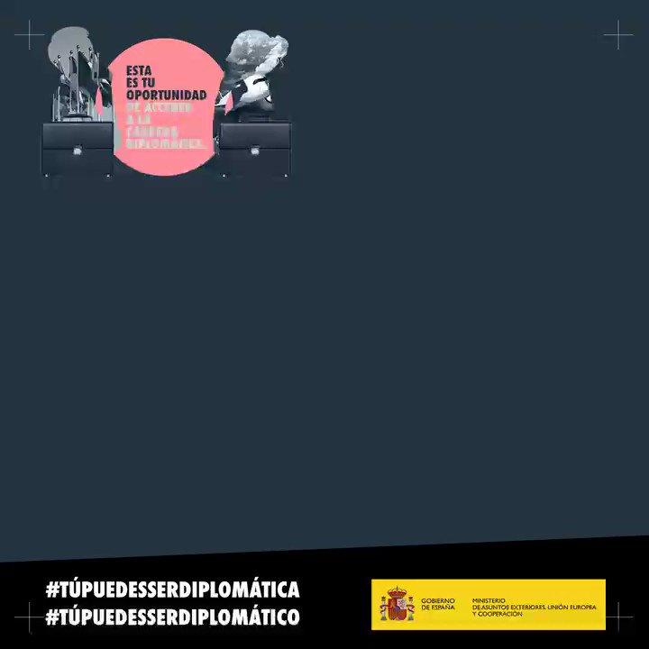 📣 ⏳ Mañana termina el plazo para presentarse a las #oposiciones de acceso a la #CarreraDiplomática ¡No dejes pasar esta oportunidad! ↪️ bit.ly/2nh95u8 💻 Más ℹ️ en nuestra web 🔗 bit.ly/2Idbuy2 #TúPuedesSerDiplomática #TúPuedesSerDiplomático