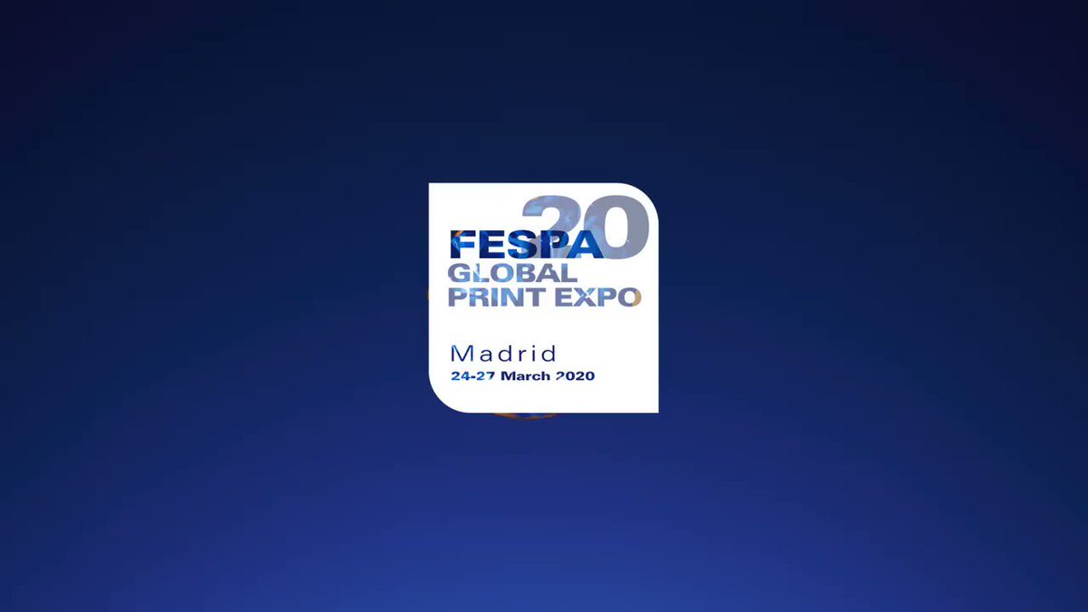 Image for the Tweet beginning: FESPA 2020… Where Colour Comes