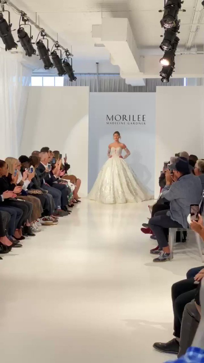It's Bridal Week in New York City and we're kicking things off with Morilee by Madeline Gardner Spring 2020 #NYFBW