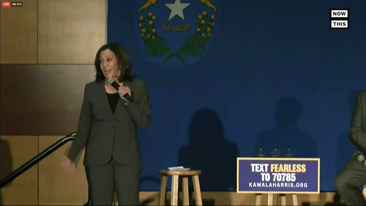 """Kamala pumping up the crowd with """"are they ready for my presidency"""" and the crowd shouting """"no"""" is really just the perfect encapsulation of that campaign."""