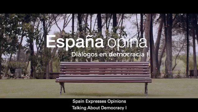 España opina 🇪🇸 Todos somos libres de decir, pensar, defender y luchar por nuestras ideas, respetando a los piensan distinto #LaDemocraciaSeToca #somosEspaña #somosLibertad @EspanaGlobal Mira este vídeo 👇🏼👇🏼