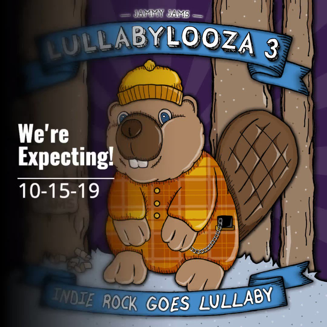 Lullabylooza 3: Indie Rock Goes Lullaby - Hits the cribs 10.15.19! Instrumental Lullaby Renditions of: Future Islands, The Postal Service, Arcade Fire, Sigur Rós and more!  #jammyjams #lullaby #indierock #lullabylooza #futureislands #arcadefire