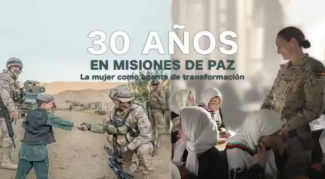 NUESTRO VÍDEO DE LA SEMANA. 3️⃣0️⃣ años de compromiso de España🇪🇸 con la paz y la seguridad en el mundo. Descubre cómo nuestras Fuerzas Armadas trabajan en el marco de las operaciones de 🇺🇳@ONU_es , 🇪🇺@EUCouncil @eu_eeas y @NATO 🎥 @Defensagob @NATOpress @EMADmde