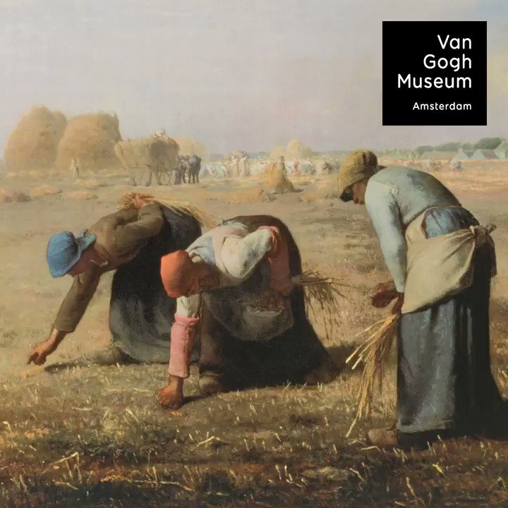 What do artists like Van Gogh, Monet, Munch and Dalí have in common? They were all inspired by the French artist Jean-François Millet! Discover the work of Millet and the many artists he inspired in our new exhibition: vangogh.nl/mte350wwfYn #VanGoghRenews #Millet
