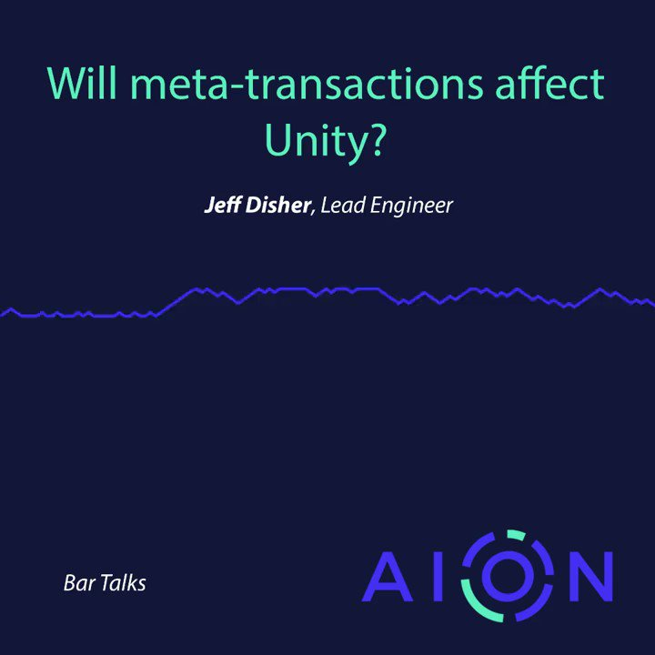 """Image for the Tweet beginning: """"Will Meta Transactions affect Unity?"""""""