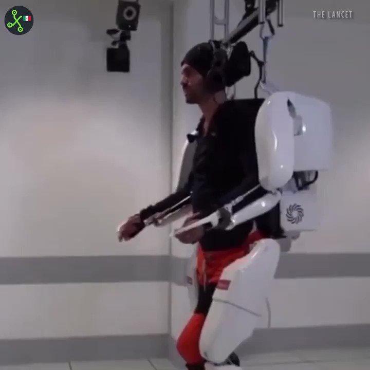 ¿Cómo volver el movimiento a una persona con parálisis?   Con tecnología.  #VideoXTK