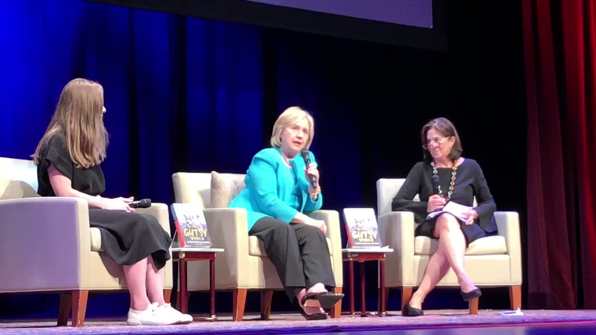 At the DC stop of our Gutsy Women tour, I laid out why impeachment is the only appropriate remedy for the administration asking—or outright extorting—foreign countries to intervene on his behalf in our elections: https://t.co/uSNgPukfiK