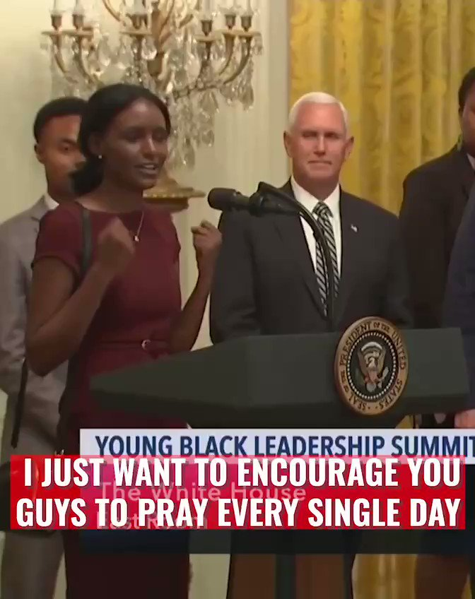 Trump Stopped Cold When A Black Supporter Asked To Pray For Him — What She Did Next Floored The Room