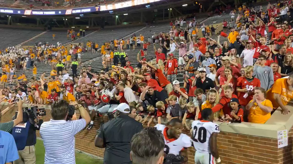 Kirby Thanked UGA Fans