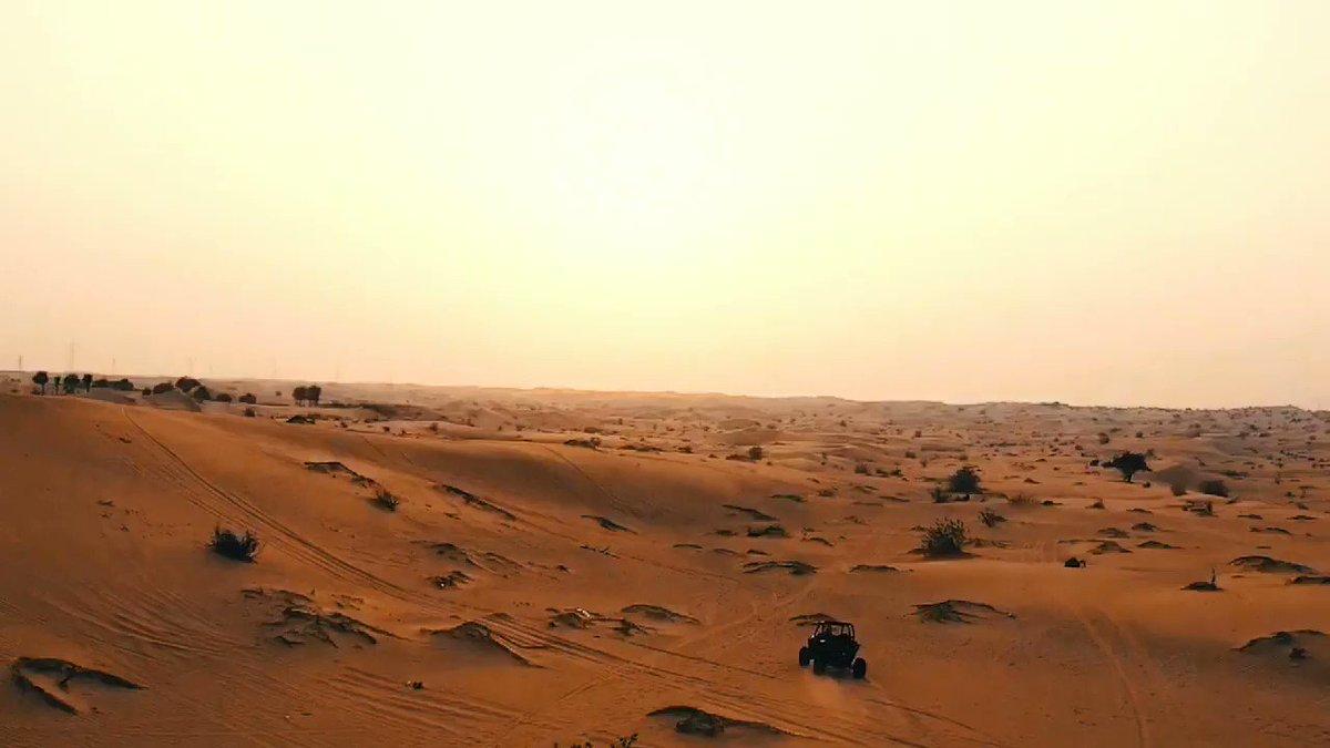 Full send in the dubai desert #SendIt