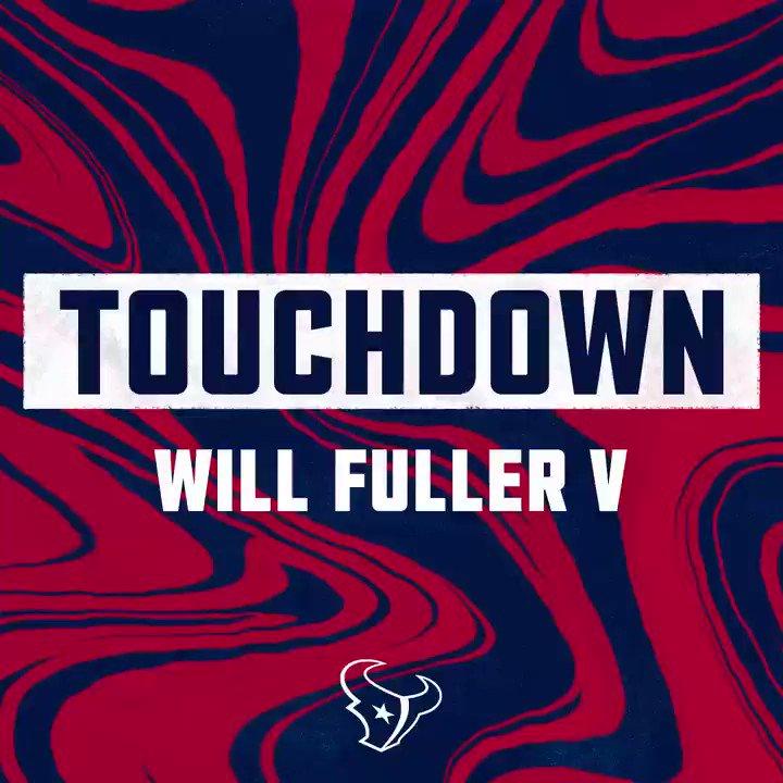 HAT TRICK! 🎩🎩🎩 @Will_Fuller7   #ATLvsHOU