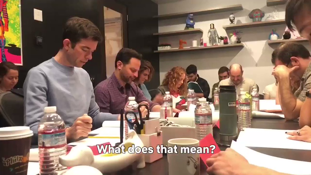 Replying to @NetflixIsAJoke: This FOMO brought to you by the @bigmouth table read with @mulaney and @nickkroll
