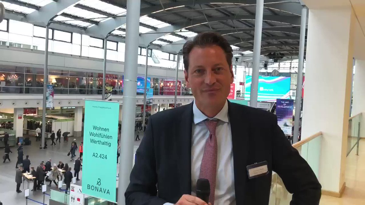 RT @exporeal_team: Christian Kadel, Head of Capital Markets Germany at @Colliers, expects 2019 to become a very good transaction year. #EXPOREAL2019 #exporeal t.co/Gx1Wk2eCIH