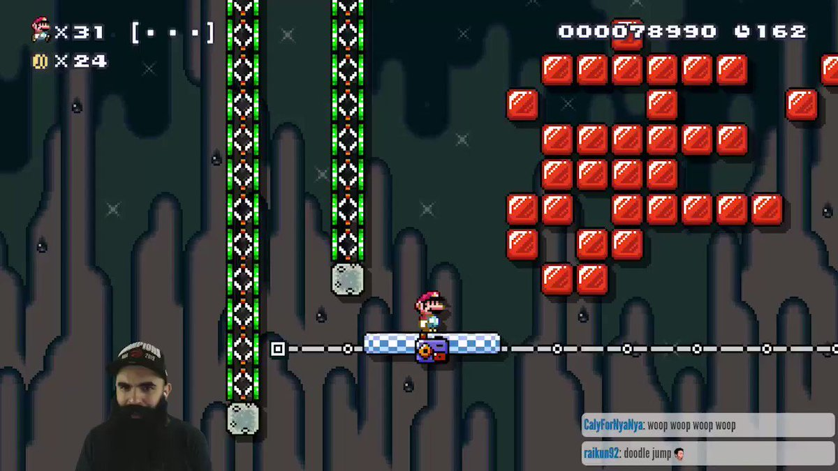 I fear I have made a big mistake.. #SuperMarioMaker2