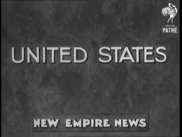 Image for the Tweet beginning: Cool footage from the 1936