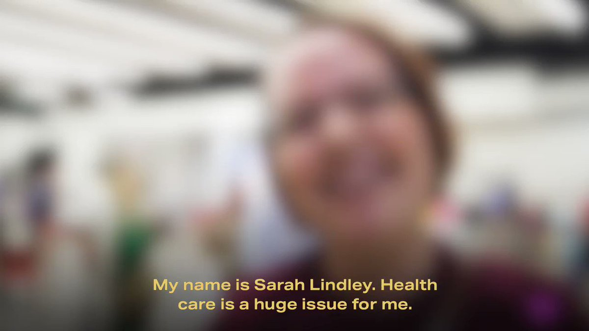 Like too many Americans, Sarah's daily medication costs more than food or gas. That's not right. @PeteButtigieg has a plan to lower prescription drug costs for all: p4a.us/medicine