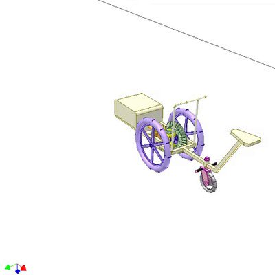 Steering Motorized -Wheel Vehicle