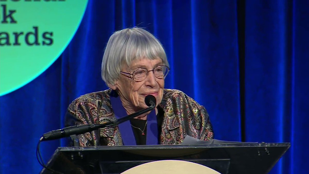 """""""We live in capitalism. Its power seems inescapable. So did the divine right of kings. Any human power can be resisted and changed by human beings ... The name of our beautiful reward is not profit. Its name is freedom."""" ― Ursula K. Le Guin"""
