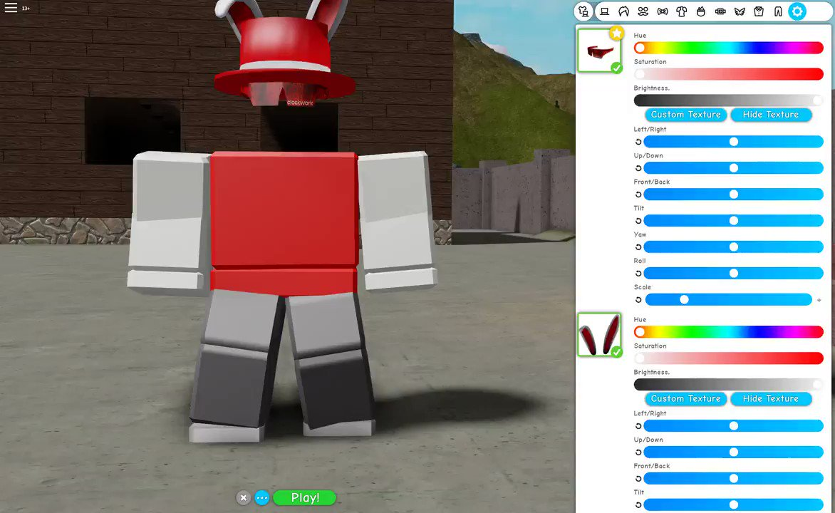 Roblox How To Make Your Own Hat And Wear It Robloxian High School On Twitter As Part Of Our New Avatar Editor You Will Be Able To Use Your Own Textures For Any Accessory Find Retextures Of Hats On The Roblox Library