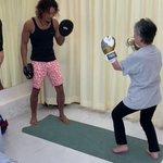 キックボクシング、実は高齢者向けのスポーツ説