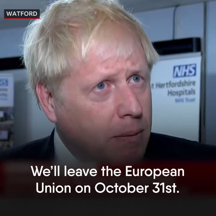 Deal or no deal - but no delay. #LeaveOct31 #GetBrexitDone 🇬🇧