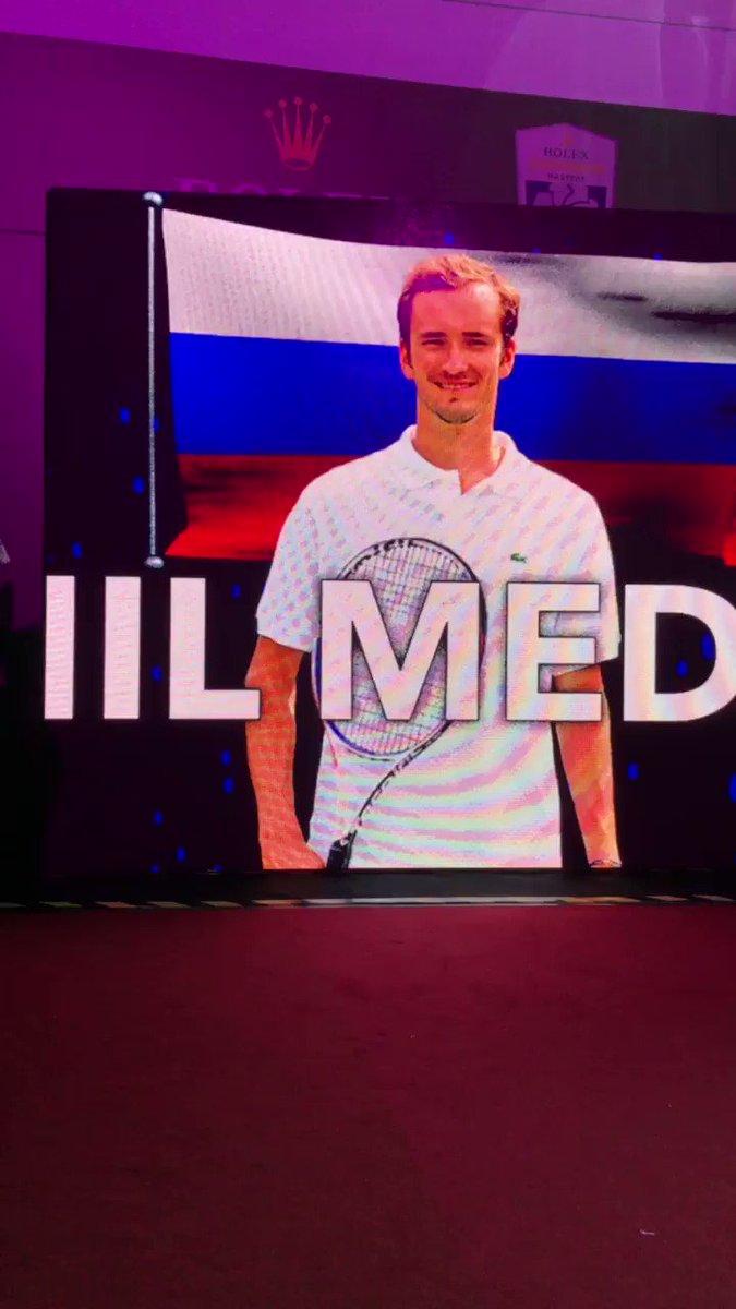 Daniil Medvedev @DaniilMedwed