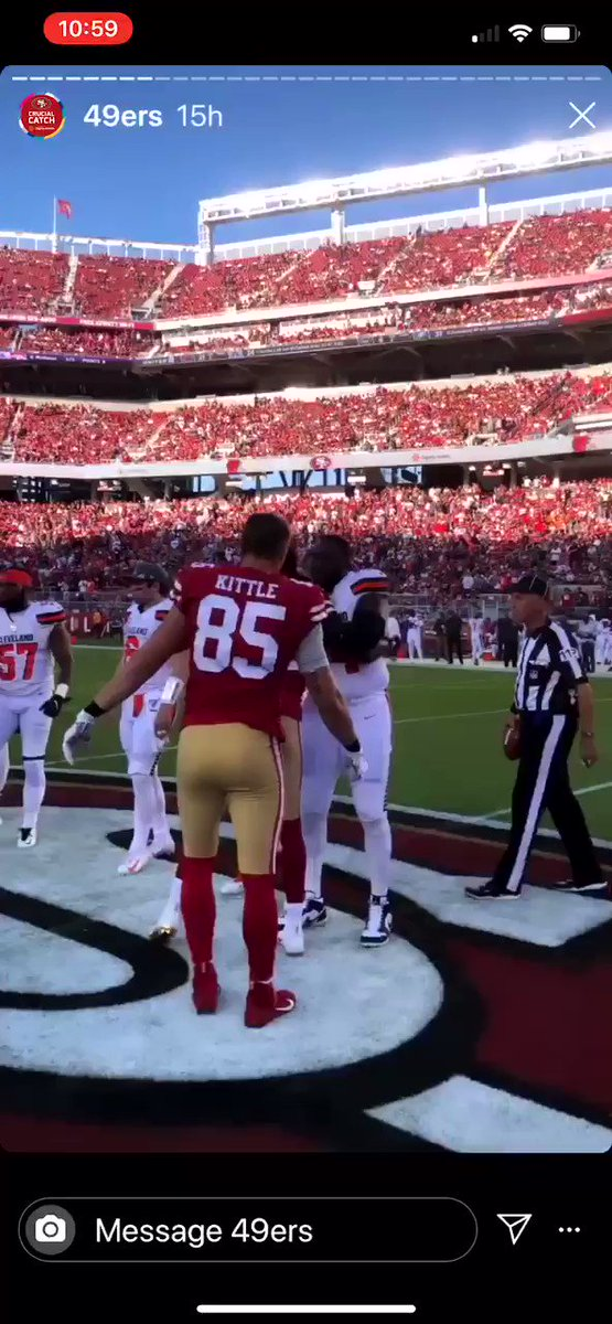 Video Surfaces Of Baker Mayfield's Pregame Handshake