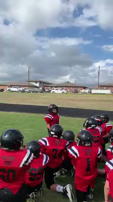 5th grade football player goes viral with pre-game pep talk