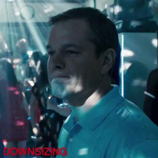 Happy Birthday MATT DAMON! In DOWNSIZING schwingt er heute das Tanzbein. Welcher Film mit ihm ist euer Favorit?