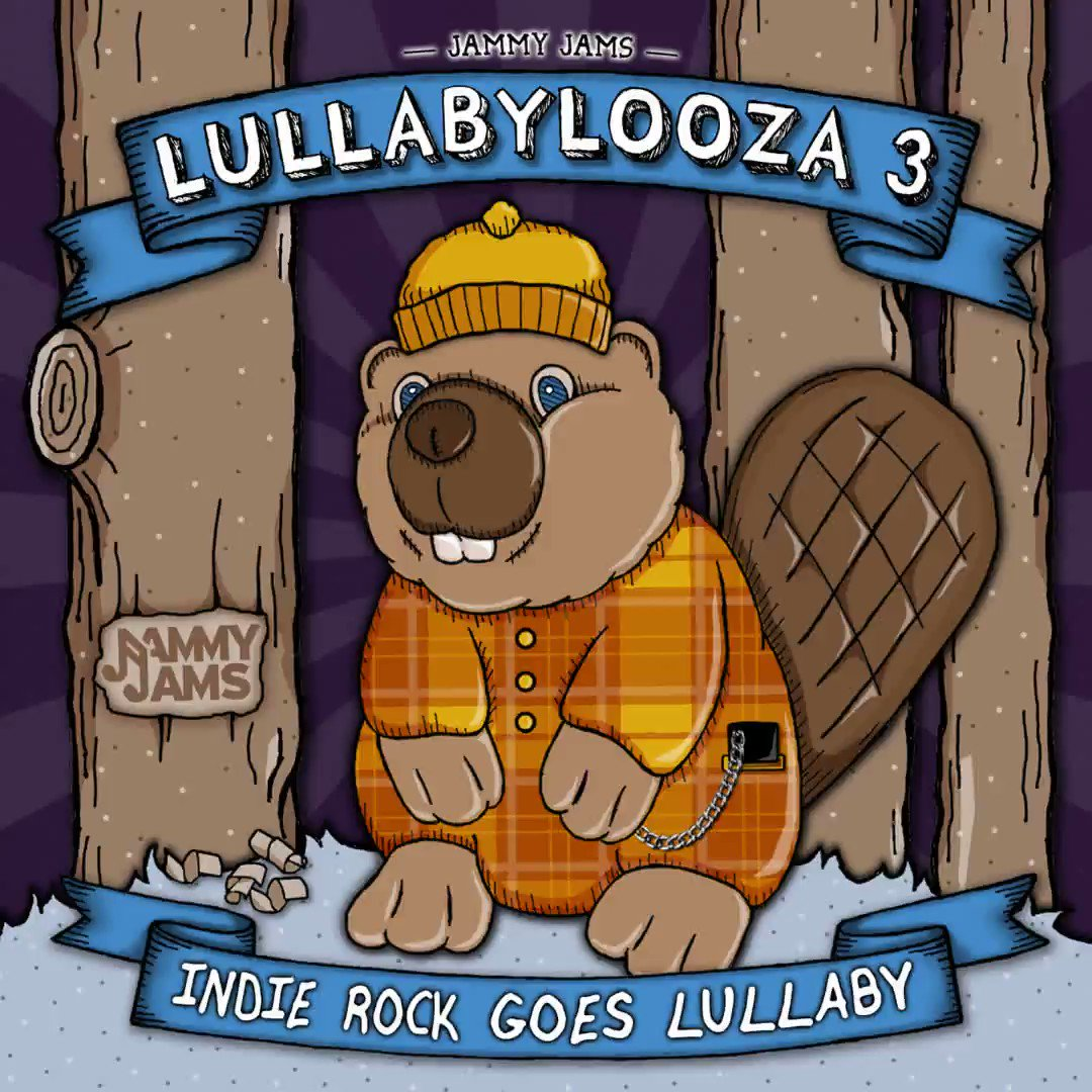 """Next Tuesday!  """"Lullabylooza 3: Indie Rock Goes Lullaby"""" hits the cribs!     Instrumental Lullaby Renditions of Modest Mouse, Future Islands, Arcade Fire, MGMT and more!  #modestmouse #futureislands #arcadefire #mgmt #jammyjams #lullaby #indierock #lullabylooza"""