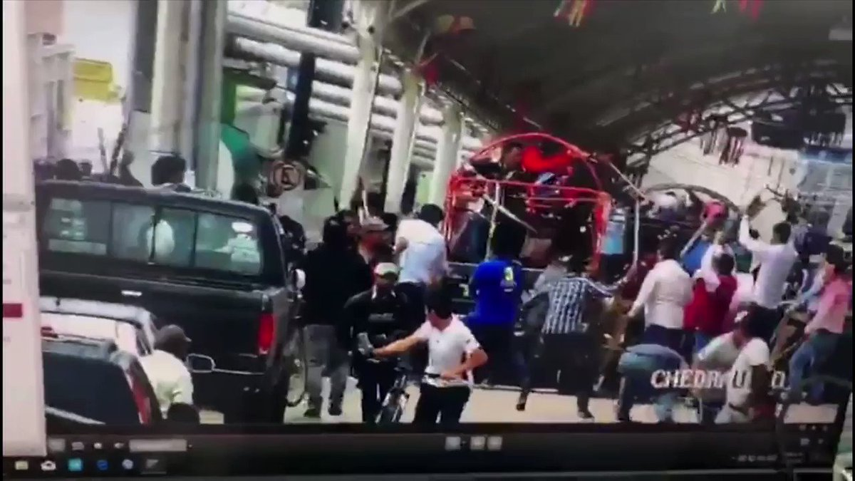 Angry mob ties mayor to back of truck, drags him through town