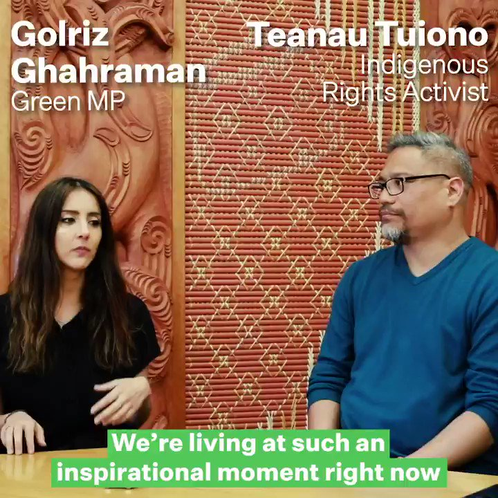 The staunch indigenous climate movement has been on the rise for years now. I spoke to Pasifika climate expert @teanau_tuiono about what climate justice means in our part of the globe and what gives him hope about the rise of global climate activism for the Pacific ✊🏽🌺🌎
