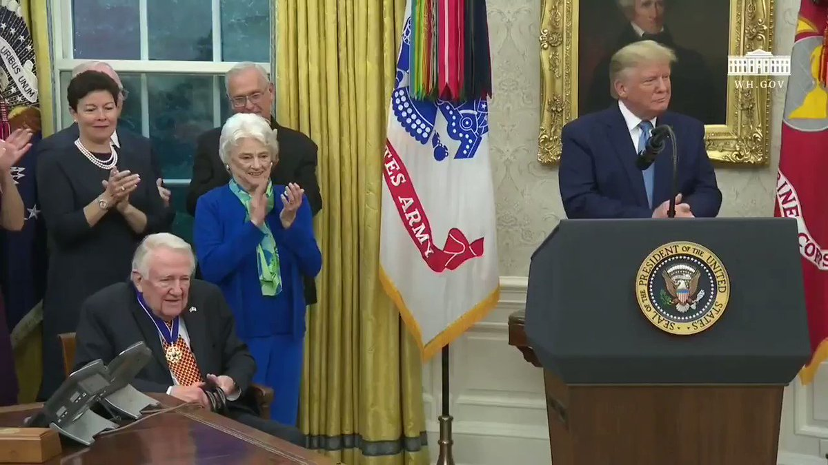 Congratulations Ed Meese, recipient of the Medal of Freedom! And thank you, President Trump!