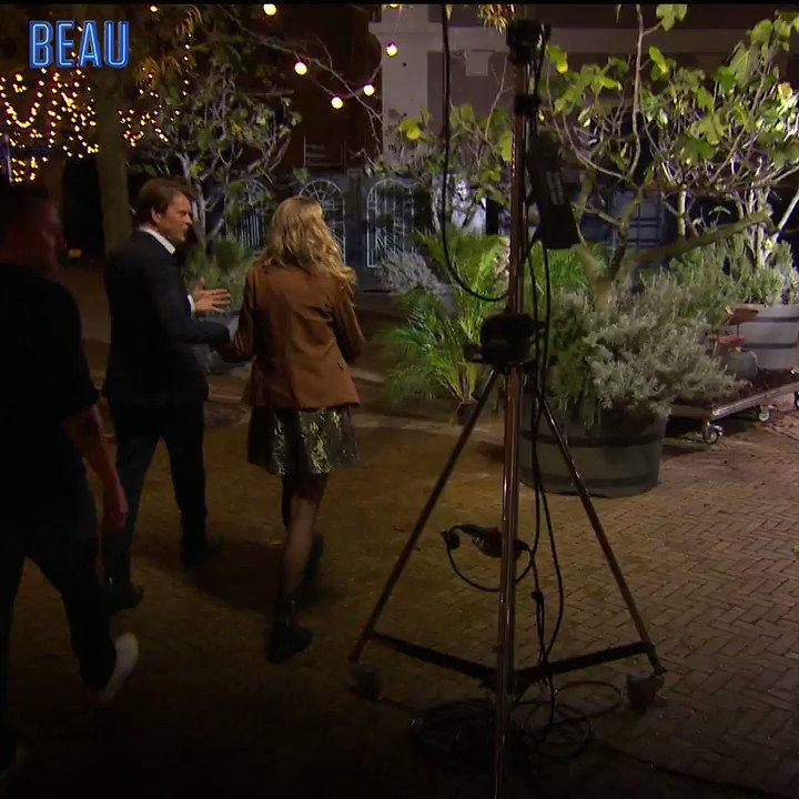 Hilarisch: Dennis Weening en Nicolette Kluijver moeten vuur maken bij Beau