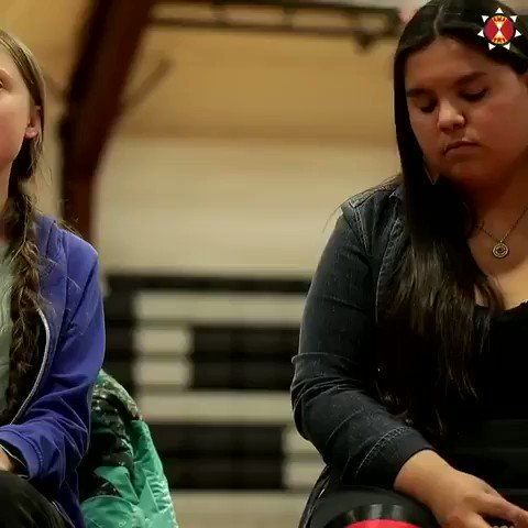 This week, @GretaThunberg joined forces with Lakota activist Tokata Iron Eyes to stand against the KeystoneXL #tarsands pipeline. Tell Congress to #ActOnClimate and say #NoKXL: buff.ly/2MsQfsB #climate #energy #solar #wind #go100re #GreenNewDeal Vid via @LakotaLaw