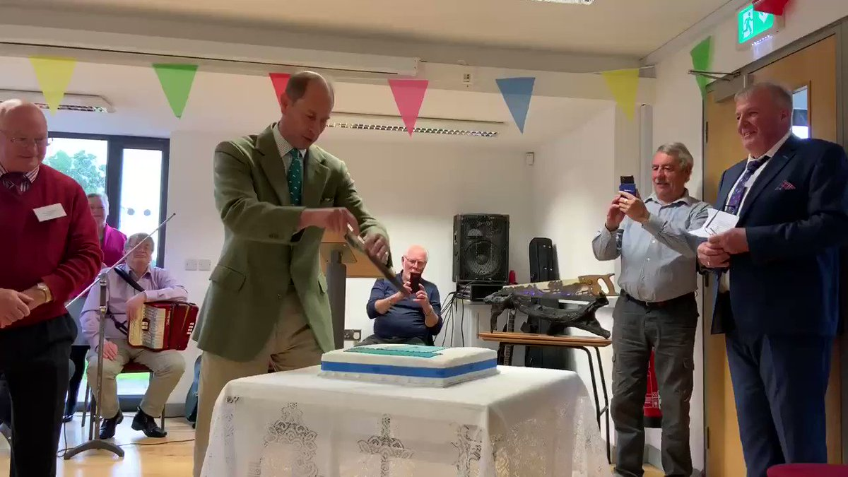 The Internet Is Demanding More Prince Edward After Seeing This Epic Cake Cutting Video