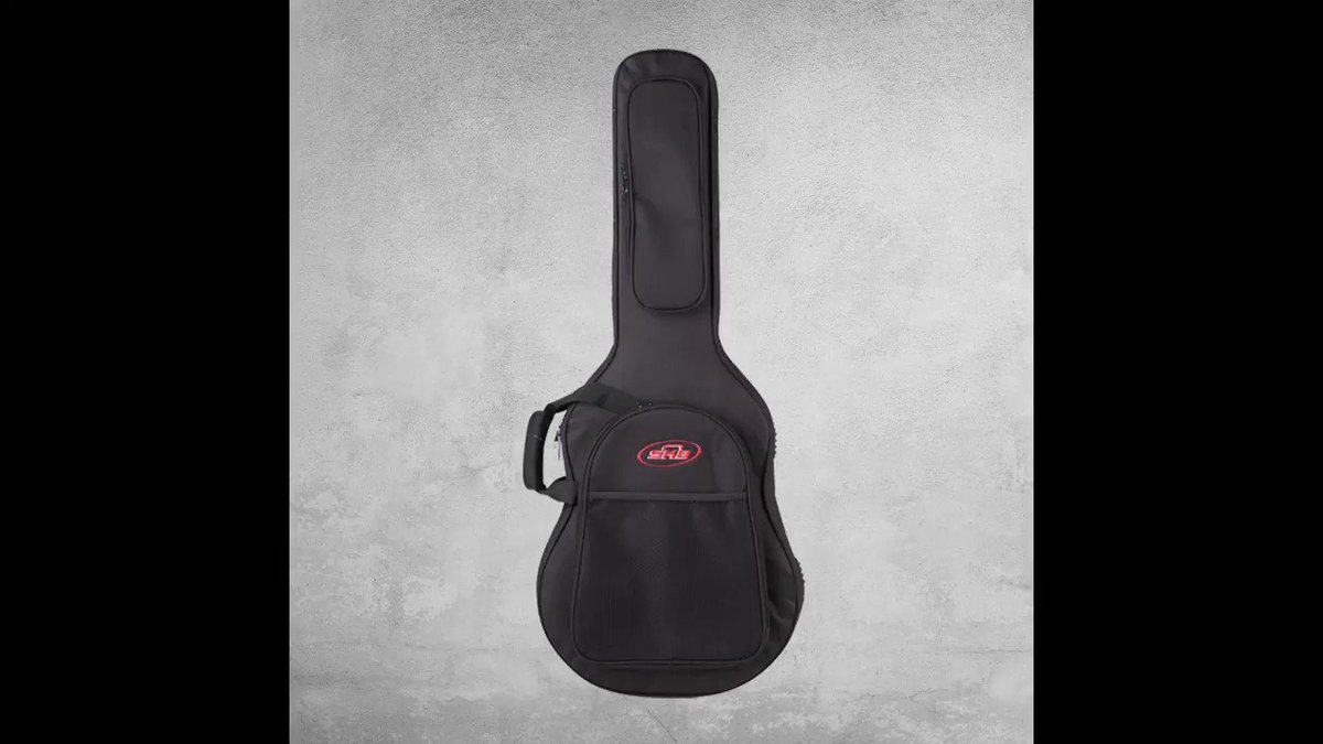 For the #guitarist on the go. The 1SKB-SC30 features a light-weight construction, padded backpack straps, and a hard-core EPS foam interior that provides more protection than a conventional #gigbag. bit.ly/2PolD01
