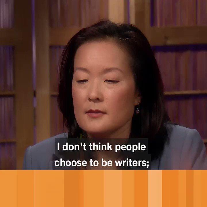 Image for the Tweet beginning: Award-winning writer Stephanie Han thinks