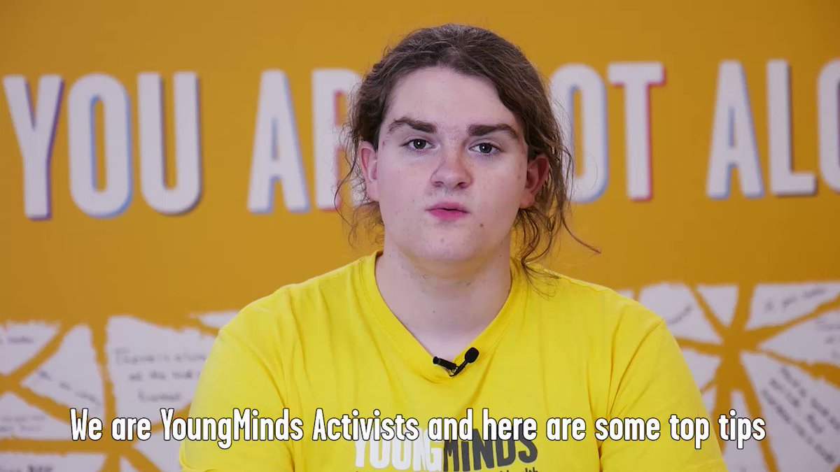 Being a good listener is key to showing young people that they are not alone when struggling with their mental health. Next time someone opens up to you about their mental health, use these tips by our Activists. #HelloYellow #WorldMentalHealthDay