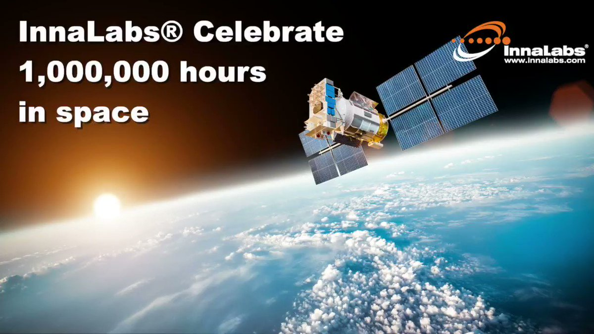 Image for the Tweet beginning: InnaLabs® Celebrate 1,000,000 hours in