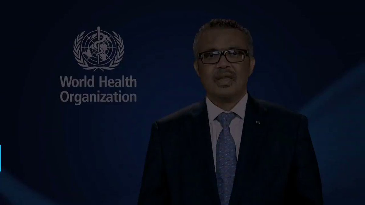 Message from WHO Director-General for #40SECONDS suicide prevention campaign #WorldMentalHealthDay2019 #WorldMentalHealthDay #SuicidePrevention
