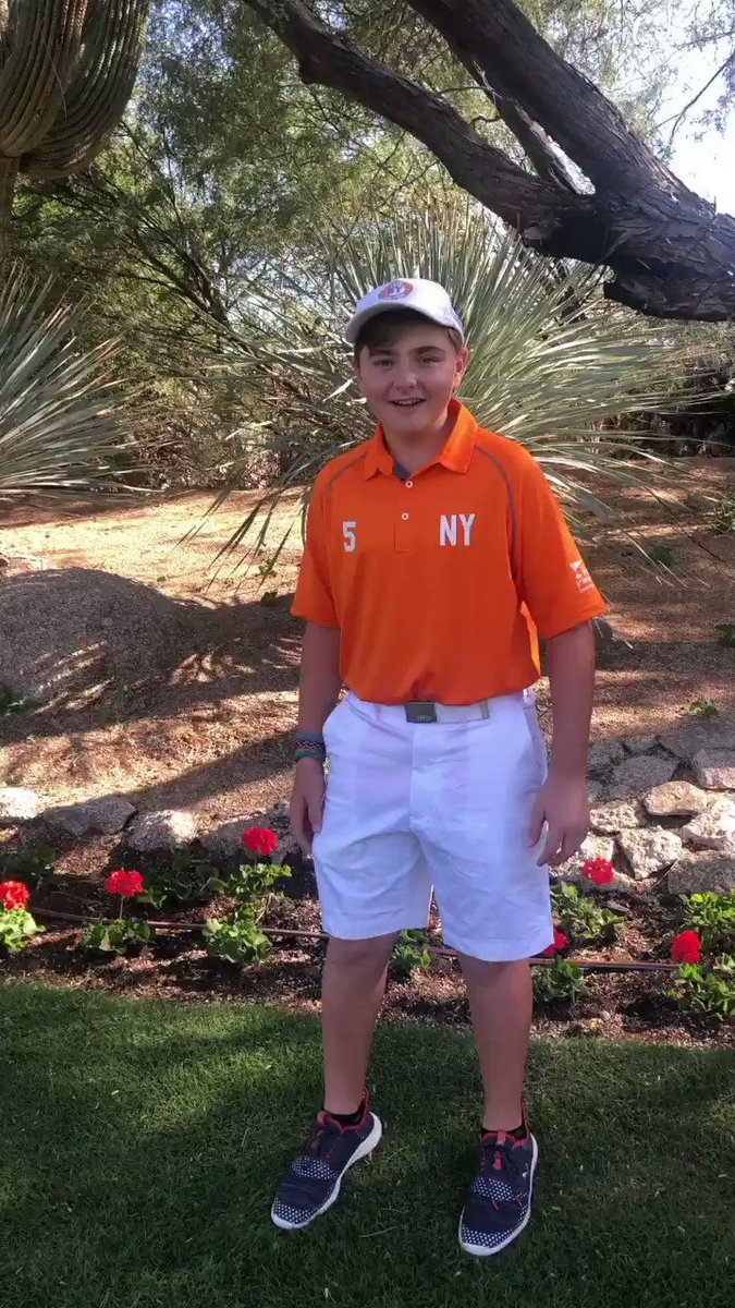 Good luck to all in Arizona this weekend including Team NY! #PGAJrLeague