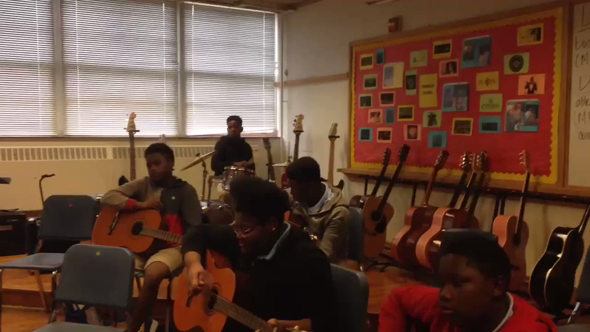 @DRC These Atwell MS students are stars. They've only been practicing a few weeks and they sound amazing. #PFAD19